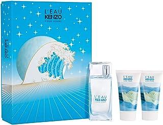 Kenzo L'Eau Pour Femme Kit - Perfume EDT + Gel de Banho + Gel Corporal Kit