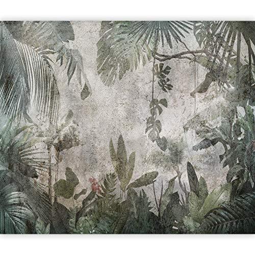 murando Carta da parati Foglie tropicali 350x256 cm Fotomurali in TNT Murale alla moda Decorazione da Muro XXL Poster Gigante Design Carta per pareti Giungla Natura Monstera Palme b-C-0821-a-a