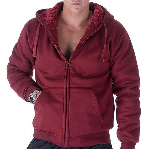 Learned New Mens Black Full Zip Up Warm Hoodie Swetshirt Top Size Xl Easy To Lubricate Hoodies & Sweatshirts