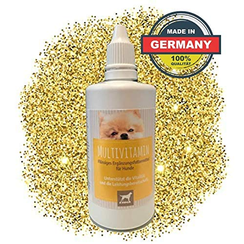 EMMA Multi Vitamine B-complex voor honden, vitaminen B1, B2, B6, B12, calcium, foliumzuur, ijzer, zinkvloeistof 100 ml