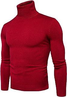 : pull col roule pour homme : Vêtements