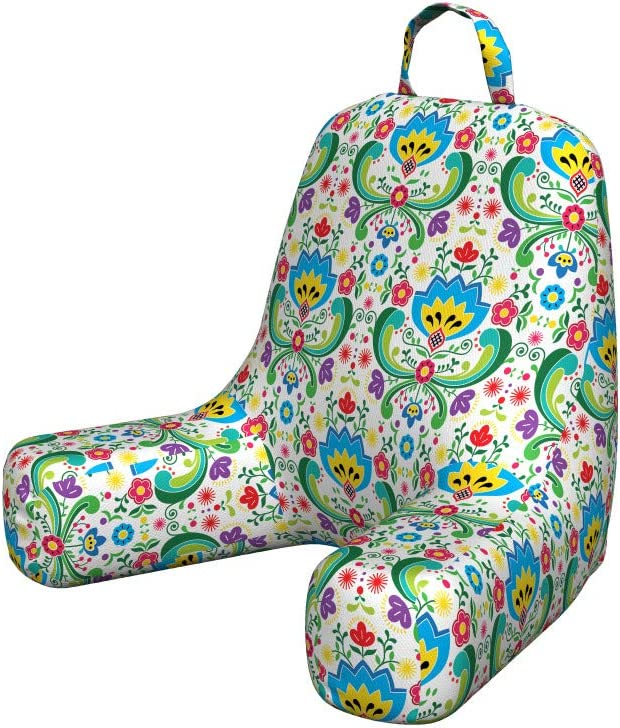 Ambesonne Norwegian Reading Cushion with P Max 44% Max 67% OFF OFF Colorful Back Pocket