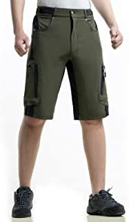 Cycorld Men`s Outdoor Hiking Shorts Men Quick Dry Lightweight for Climbing