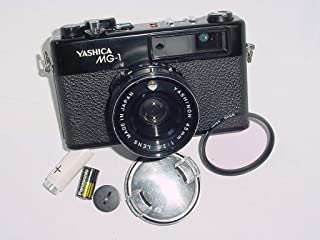 Yashica MG-1 35MM Film Rangefinder Point and Shoot Camera