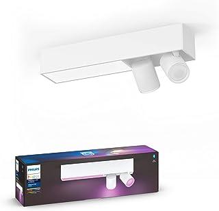 Philips Hue Centris 2 spotlights vit: taklampa, GU10 spotlights + LED-modul, Philips Hue White and Color, Zigbee & Bluetoo...