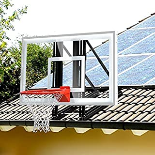 katop Garage Roof-Mount Outdoor Basketball Hoop System with 48 or 60 inch Backboard,Durable Steel Universal Bracket and Br...