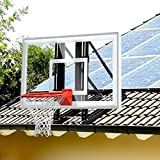 katop Garage Roof-Mount Outdoor Basketball Hoop System with 60 inch Backboard,Durable Steel Universal Bracket and Break-Away Rim Combo
