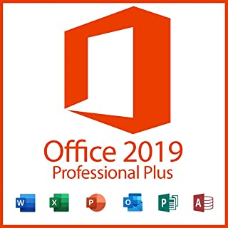 Office 2019 Professional - 1 License Key + OS Download - Same Day Delivery Via Amazon Message