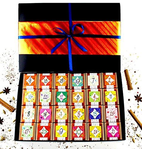 Gewürz - Adventskalender mit 24 Gewürzspezialitäten der Finca Marina Gewürzmanufaktur