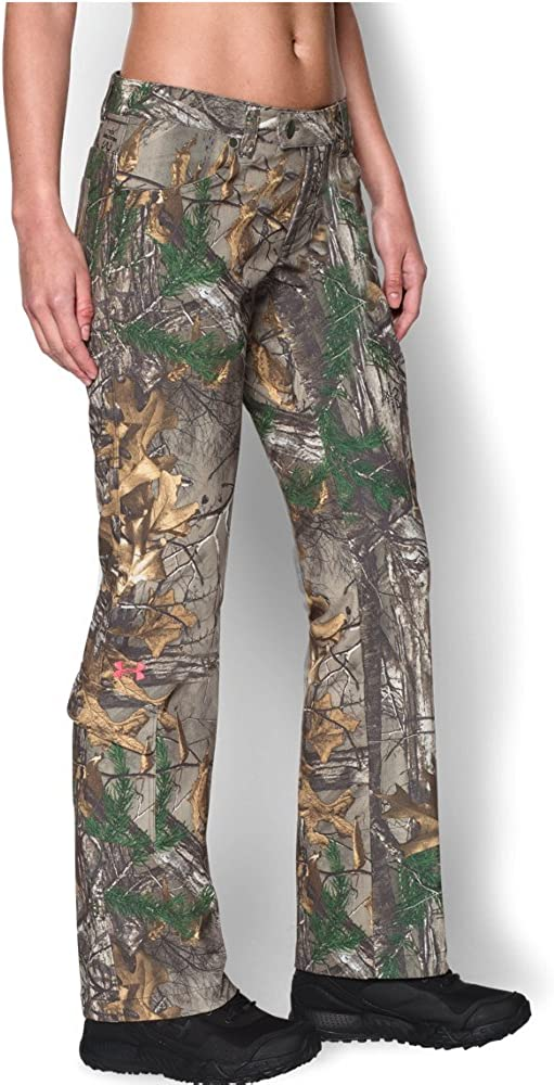 $129 Under Armour Women Camo Pants M Hunting  Fishing