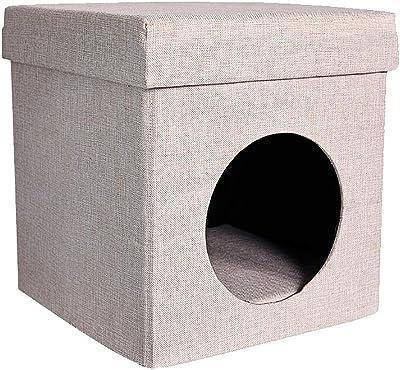 FOOTSTOOL Reposapiés Perro/Arena para Gatos Desmontable ventilación Lavable y Banco de Zapatos Transpirable de