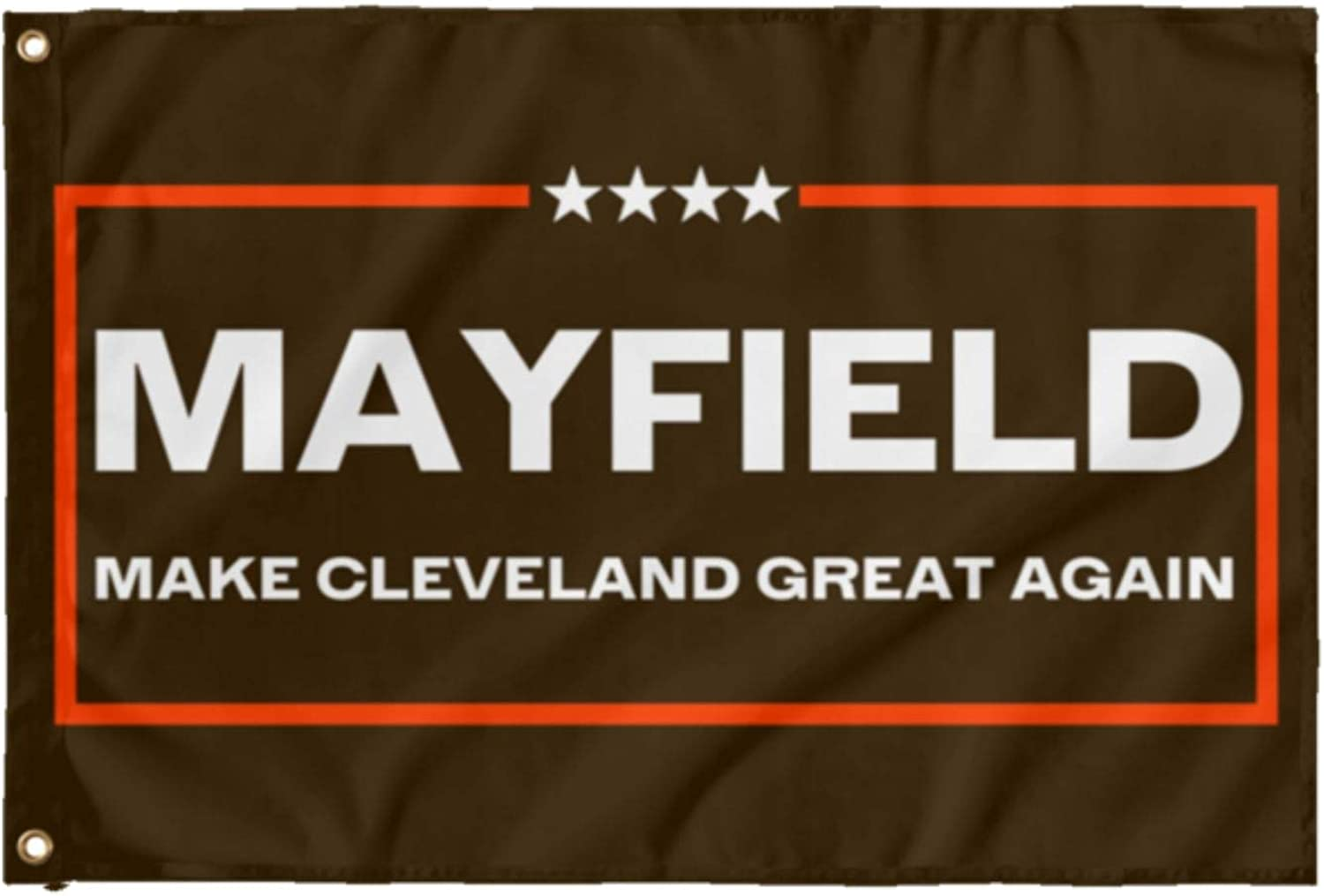 LiberTee Mayfield Direct sale of manufacturer Browns Football Flag 3x5' The Make Gre Online limited product
