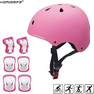 Nfun/ / nkit Kit Completo Protecciones para Ni/ños para Bicicleta y monopat/ín