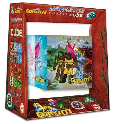 Educa Borrás 14386 - Magnetic Puzzle Cube 8 Gormiti