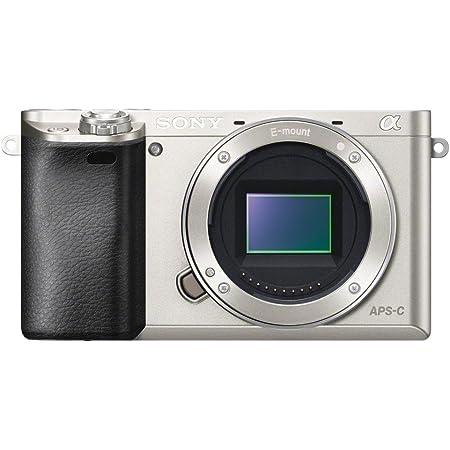 Sony Alpha 6000 Systemkamera 3 Silber Kamera