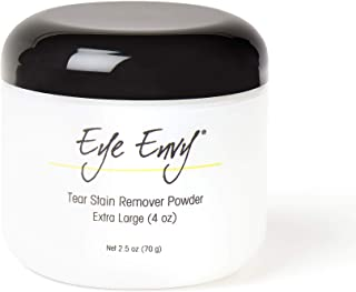 Eye Envy - Tear Stain Remover Powder- for Dogs and Cats, 4oz - Safe and Natural