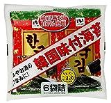 ニコニコのり 韓国味付海苔 6袋×10個