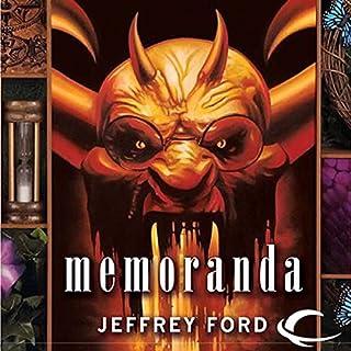 Memoranda audiobook cover art