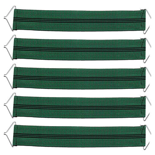 YARNOW 5pcs Gravity Chair Replacement Reinforced Belts Bungee Elastic Cords Gravity Chair Patio Recliner Chair Accessories