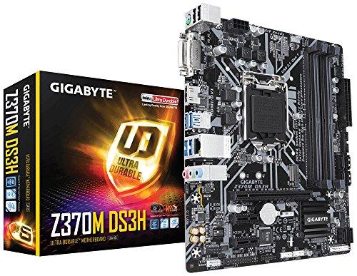 Gigabyte GA-Z370M DS3H - ATX Placa base, color negro
