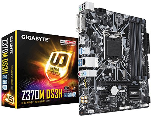 Gigabyte Z370P D3 Scheda Madre, Intel Z370 Express, 4 x...