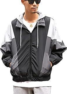 LUX STYLE(ラグスタイル) ジャケット トラックジャケット メンズ ライトアウター 防風