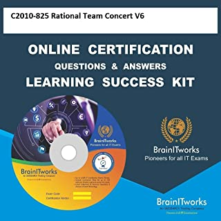 C2010-825 Rational Team Concert V6 Online Video Certification Learning Made Easy