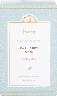 Harrods London. No. 42 Earl Grey, 50 Tea Bags 125g (1 Pack) USA