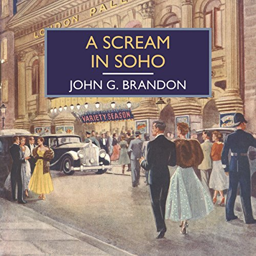 A Scream in Soho audiobook cover art