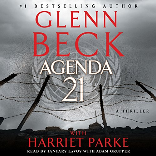 Agenda 21 audiobook cover art