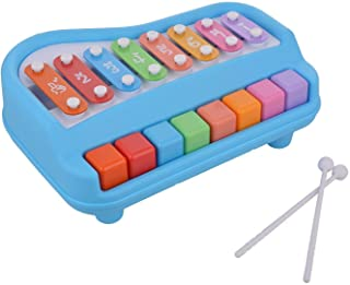 Kids World Piano Xylophone Educational Musical Instruments Toyset for Kids (Multicolor)