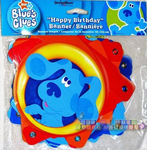 Party America Blue's Clues Banner