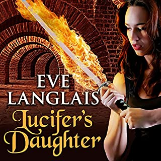 Lucifer's Daughter audiobook cover art
