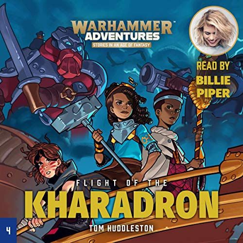 Warhammer Adventures: Flight of the Kharadron cover art