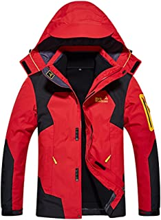 f688ece846f5 Windproof Snow Ski Jackets for Men Winter Waterproof Skiing 3-in-1  Breathable