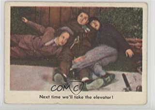 Next time we'll take the elevator! Ungraded COMC Poor to Fair (Trading Card) 1959 Fleer The 3 Stooges - [Base] #25