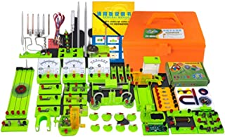 Physics Science Lab Basic Circuit Learning Kit Electricity And Magnetism Experiment for Junior Senior High School Students...