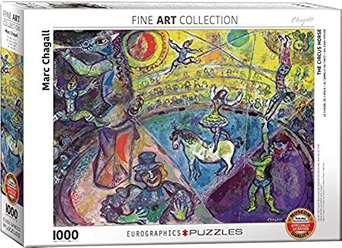 EuroGraphics Marc Chagall Le Cheval De Cirque Puzzle (1000 Piece) by EuroGraphics