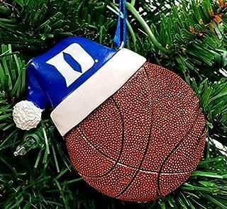 Oxbay Duke Blue Devils Santa HAT Basketball Resin Ornament 4