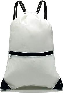 01cbf6d9d61a Amazon.com  Whites - Drawstring Bags   Gym Bags  Clothing