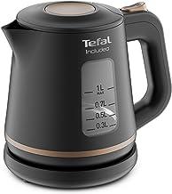Tefal Includeo Bouilloire électrique facile à utiliser, 1 L, Fonctionnalités visibles, Poignée antidérapante, Fenêtres de ...