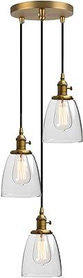 Phansthy 16.6CM Applique Murale Industrielle Lampe Murale Vintage E27 Luminaires en Métal pour Grenier, Cuisine,Salle à Manger(ampoule non incluse) Noir