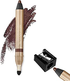 Jumbo Eye Pencil for Smokey Eye, Water-Resistant & Smudge Proof - Manual Eyeliner Sharpener with Precision Dual European B...