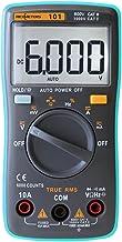 Nishore Resistência RM101 True RMS Multifuncional LCD multímetro digital DMM DC tensão AC Current Meter Diode capacitância...