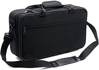 Tosnail 600D Water-resistant Foam Cotton Padded Clarinet Case, Clarinet Gig Bag