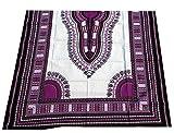 raanpahmuang afrikanischen Dashiki weiß Baumwolle Stoff