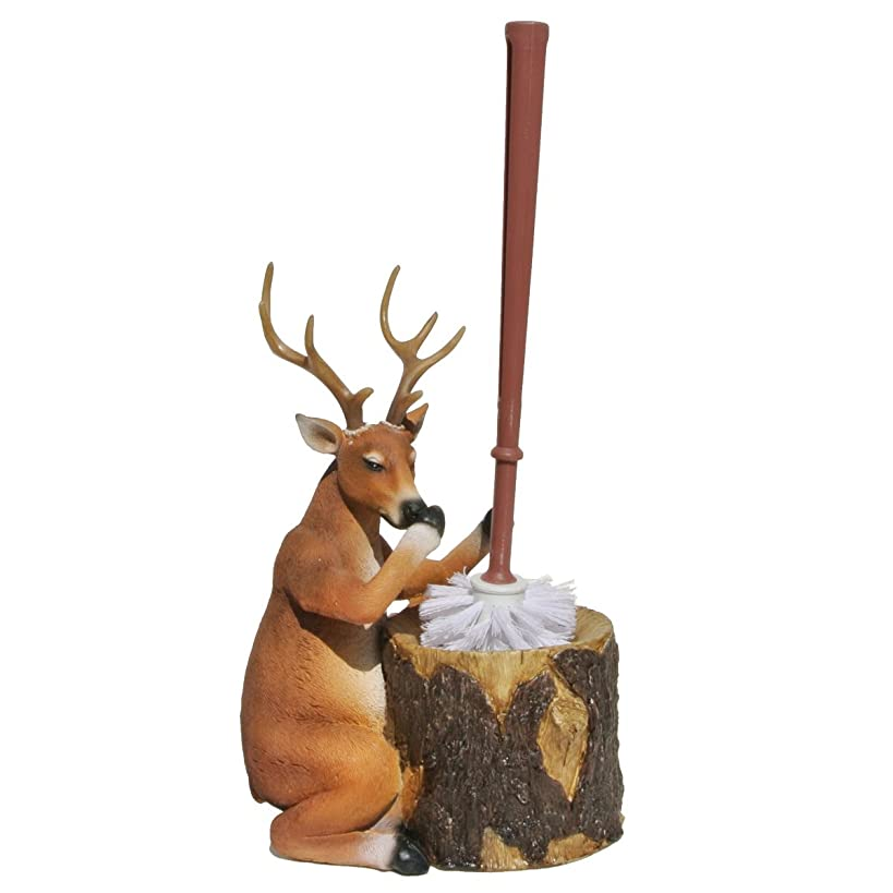 LL Home Deer Toilet Brush Holder