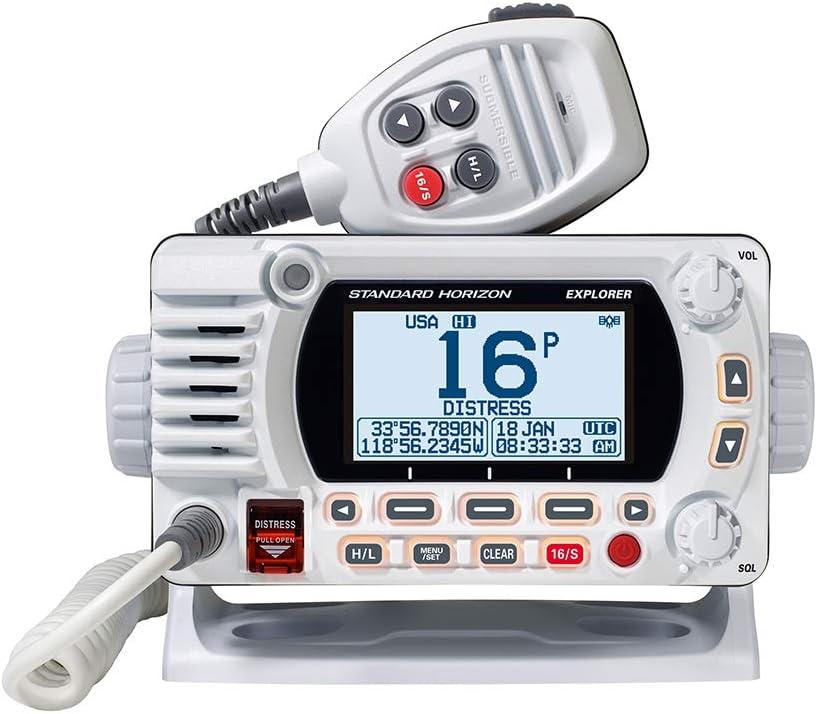 Standard Horizon 1850G Fixed Mount VHF w/GPS - White [GX1850GW]