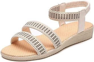 Kingwhisht Women Sandals 15 Colors Flats Fashion Casual Beach Girls Summer Sandals Bohemian Women Summer Shoes