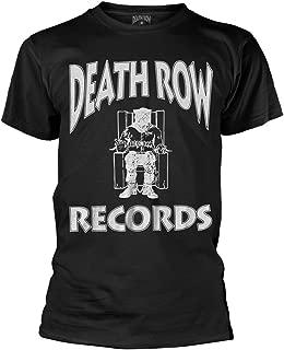 Plastic Head Death Row Records 'Logo' (Black) T-Shirt